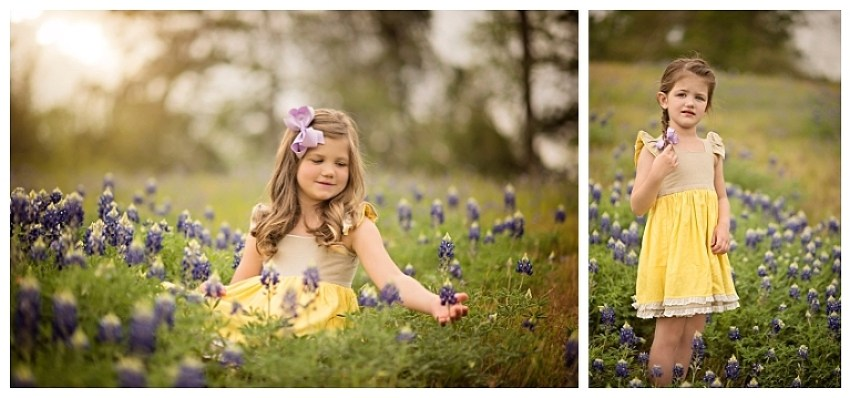 Woodlands Bluebonnet Photographer