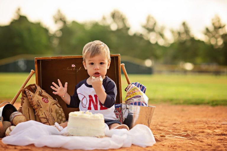 First Birthday Woodlands Photographer