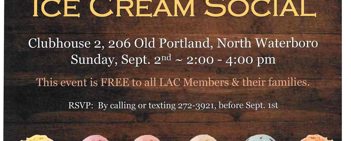 September Ice Cream Social