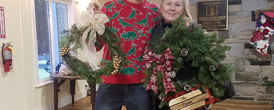 2018 Wreath Making Pictures