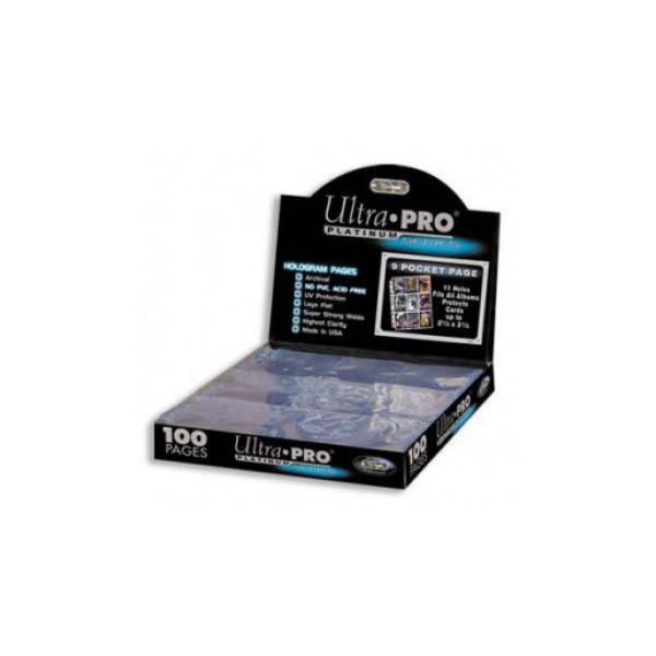 Ultra PRO Feuilles De Classeur Platinum Series 9 Cases 11