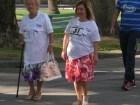 Madre e figlia a passeggio per la Salute