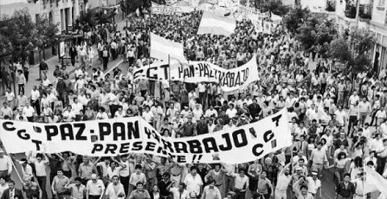 """Mañana domingo la marcha por """"Paz, Pan y Trabajo"""" promete ser multitudinaria"""