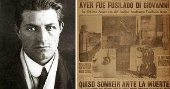 Severino Di Giovanni, el anarquista más famoso del país vivió en Ituzaingó