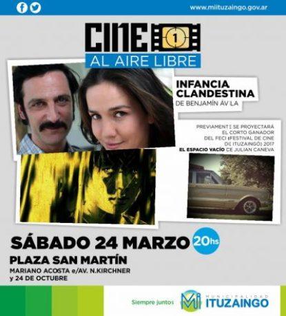 El 24 de Marzo se proyectarán dos películas sobre la dictadura en la plaza San Martín 3