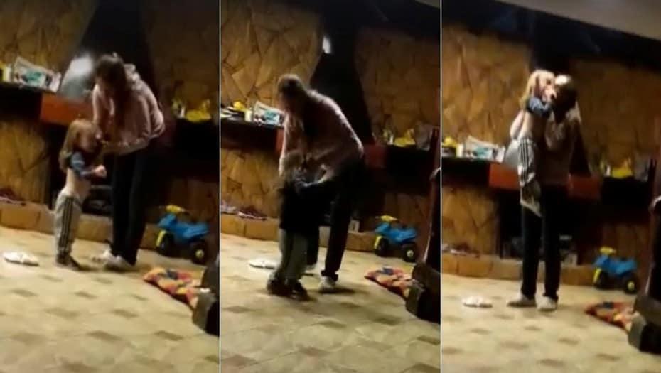 La madre que golpeó brutalmente a su hijo de 2 años vive en Ituzaingó