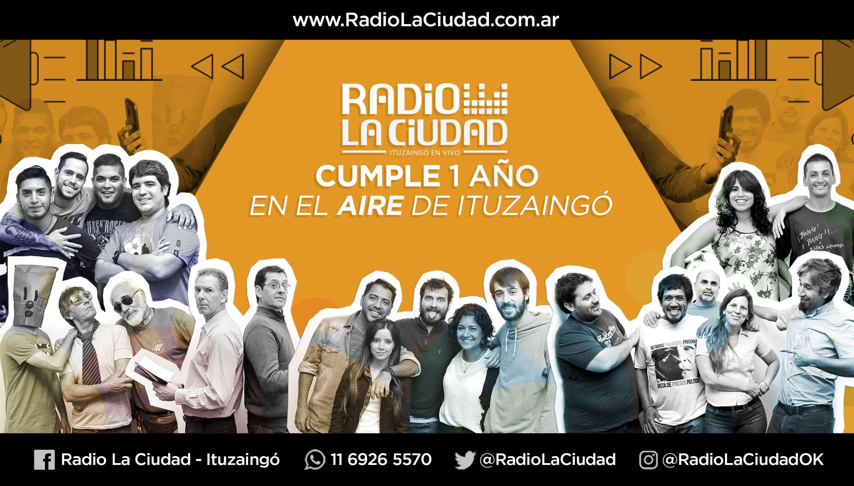 Radio La Ciudad cumple un año en una familia de 24.000 Ituzainguenses