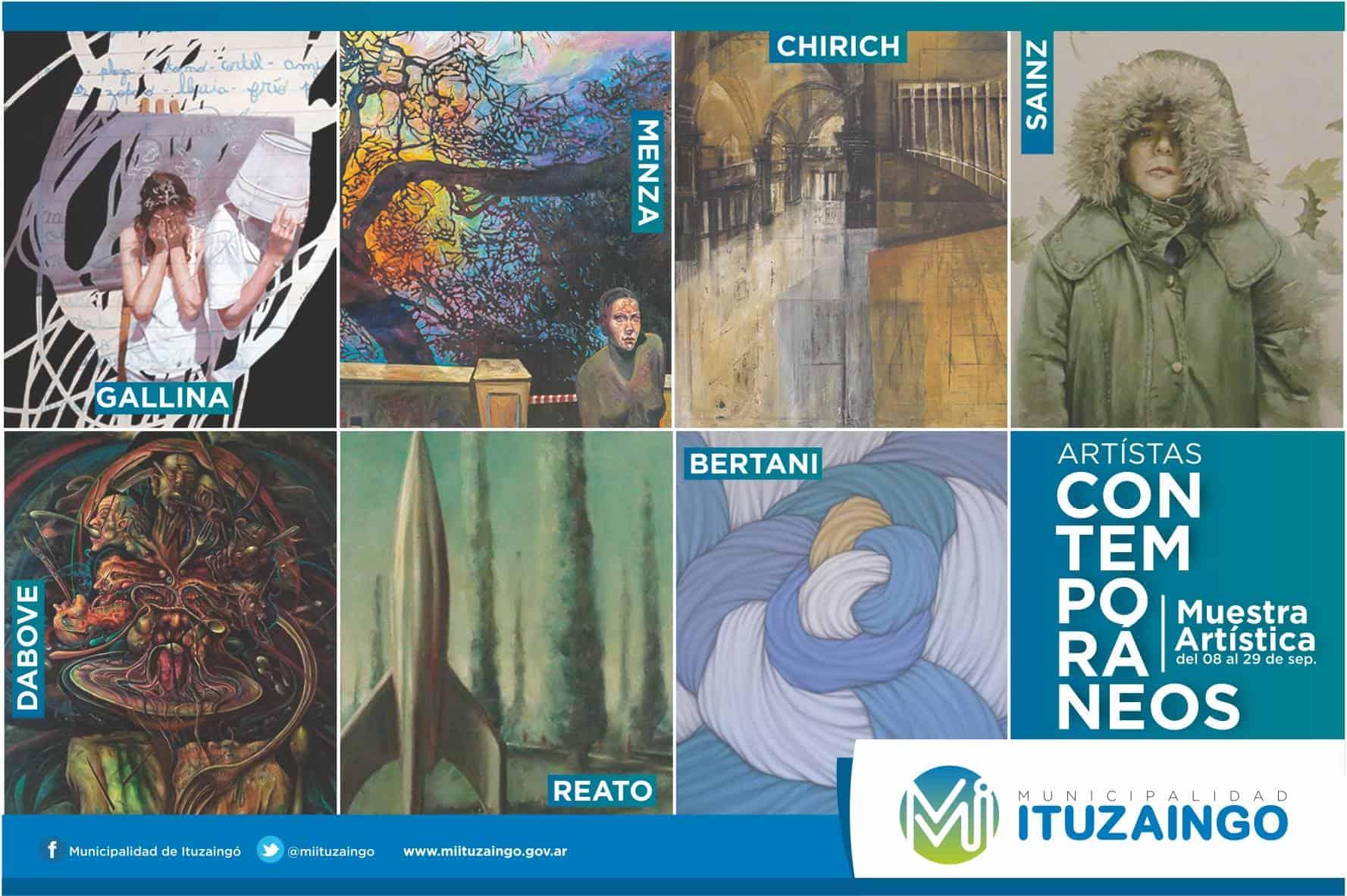 Muestra Compartida de Artistas Contemporáneos en Ituzaingó