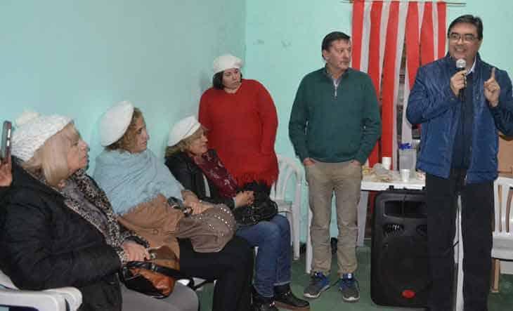 El dirigente radical que hace huelga de hambre en la Plaza, en las últimas elecciones jugó con Sergio Massa