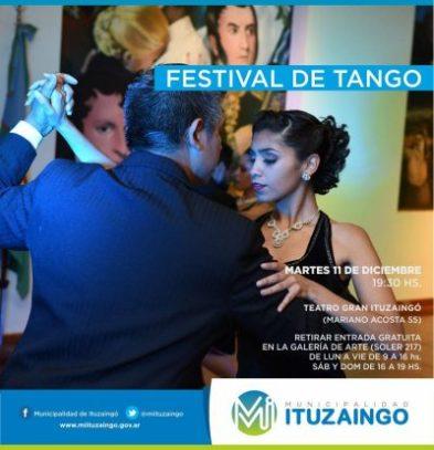 Festival de Tango en el Teatro Gran Ituzaingó 2