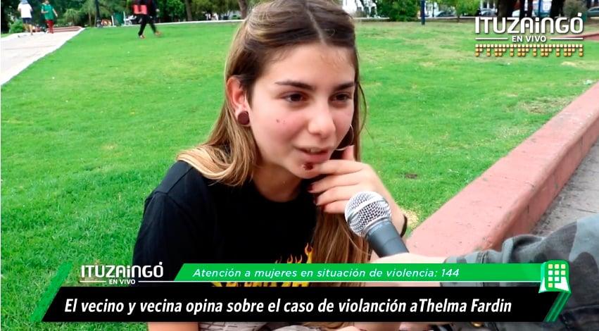 Ituzaingó opina: el caso de Thelma Fardín