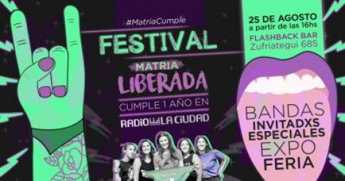 """El programa de radio """"Matria Liberada"""" cumple un año y lo festeja en Flashback 2"""