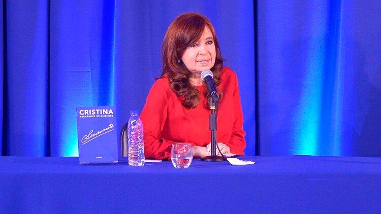 Cristina Fernández presentará su libro en La Matanza