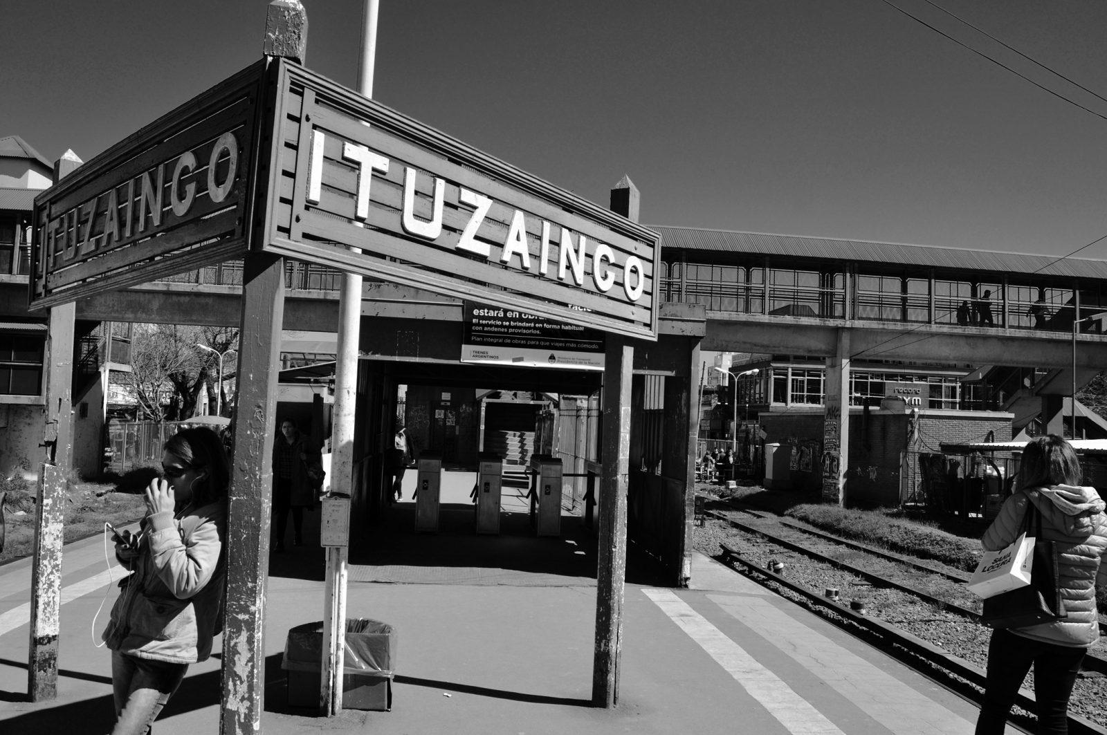 A partir de mañana la estación Ituzaingó del Sarmiento quedará clausurada