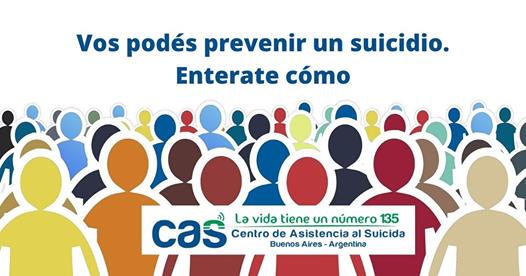 Línea 135: El número de la institución que trabaja en prevención del suicidio 2