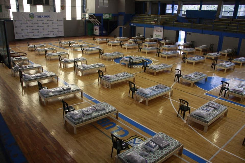 A pacientes leves que se internen en los centros de aislamiento les pagaran $ 500 por día