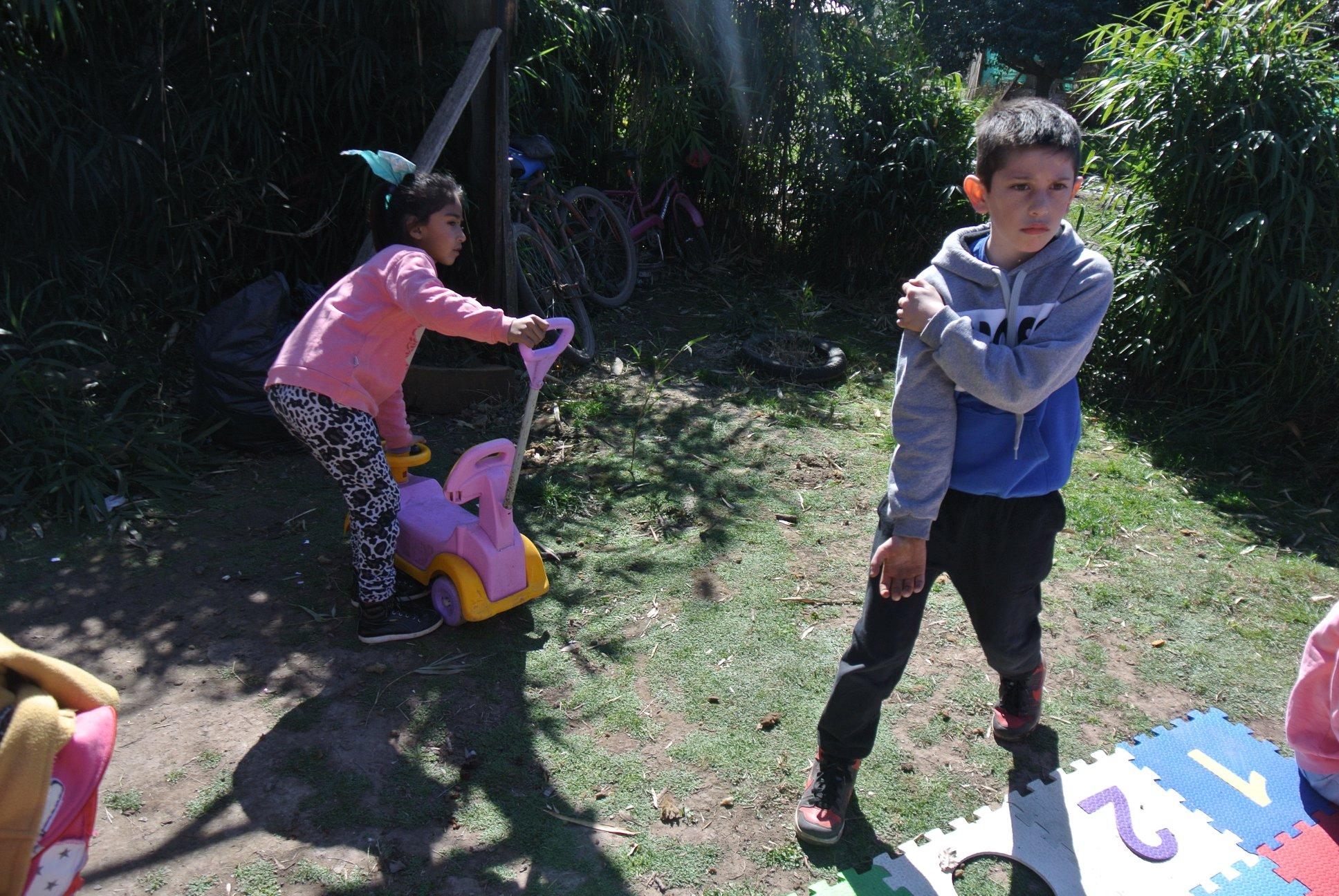 Una ONG realiza una rifa a beneficio de merenderos de Zona Oeste por el día de la niñez