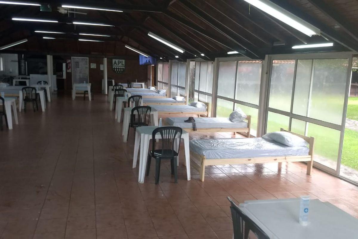 Ituzaingó: instalan otro centro de aislamiento para covid-19 en Villa Udaondo
