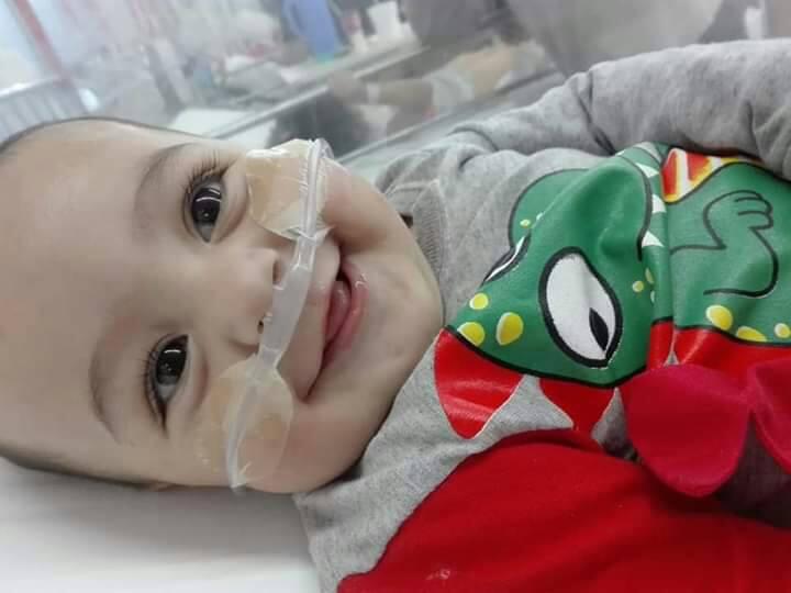 El desesperado pedido de Eric: tiene 2 años y necesita un corazón urgente