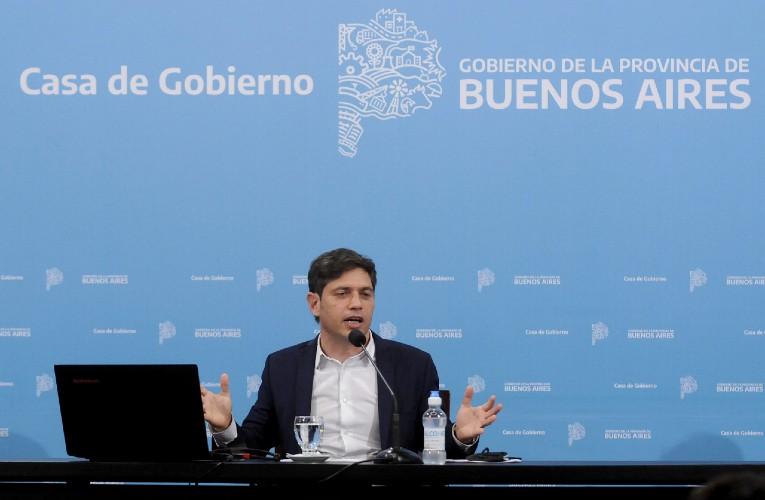 El gobernador anunció la construcción de 50.000 viviendas y 91.000 lotes con servicios