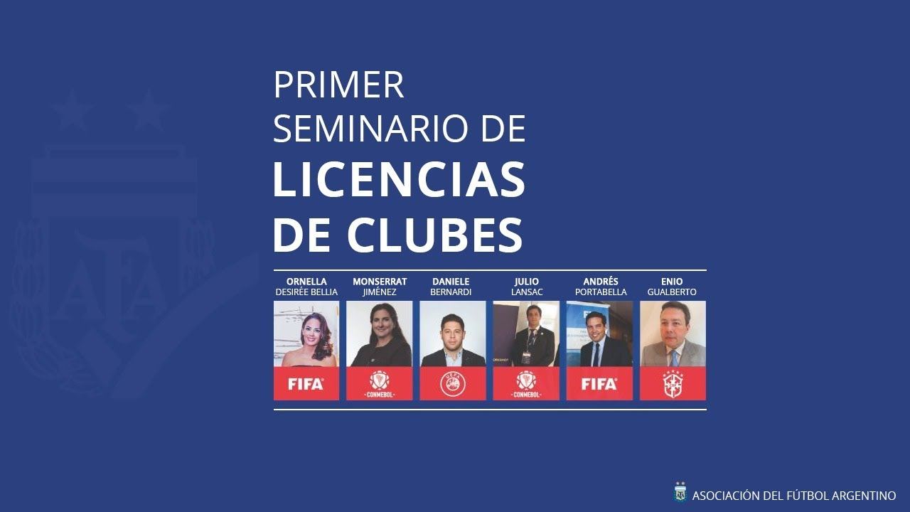 Arrancó el primer seminario de licencias para los clubes online