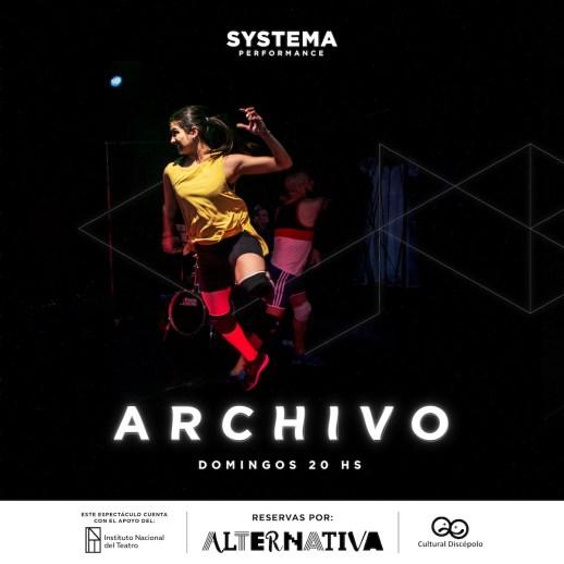 Se transmite por streaming durante noviembre la obra  SYSTEMA 3