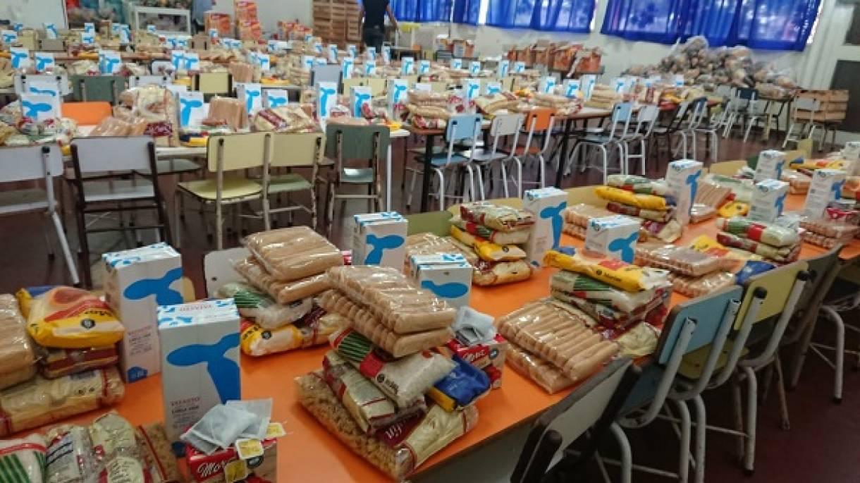 La Provincia aumentó el servicio alimentario para las escuelas