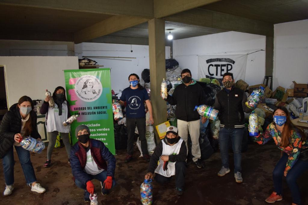 """Ituzaingó ya tiene su primer """"destino sustentable"""" para recibir materiales reciclables"""