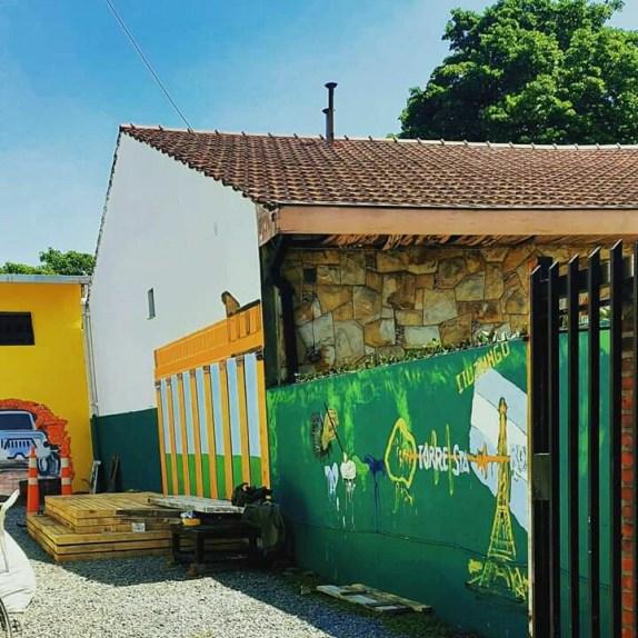 """Rubén Díaz inaugura """"Condado Border Bars"""", el camino temático que unirá Ituzaingó con Castelar 5"""