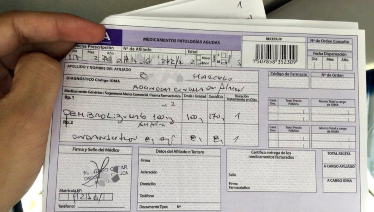 Piden a los y las afiliadas a IOMA que se registren en la web ante ordenes médicas falsas