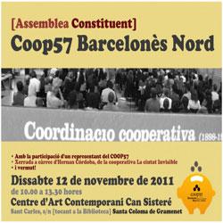 La secció local del Coop57-Barcelonès Nord