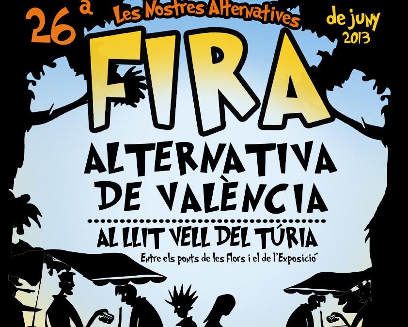 Arriba la Fira Alternativa de València  i estrenem nou servei de comandes