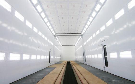 Industrielackieranlagen - Beleuchtung