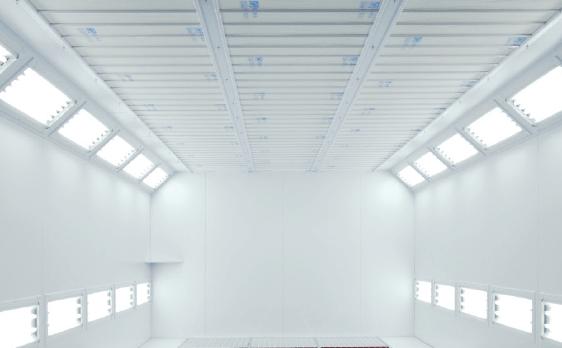 Tischlerei Lackieranlagen - Beleuchtung