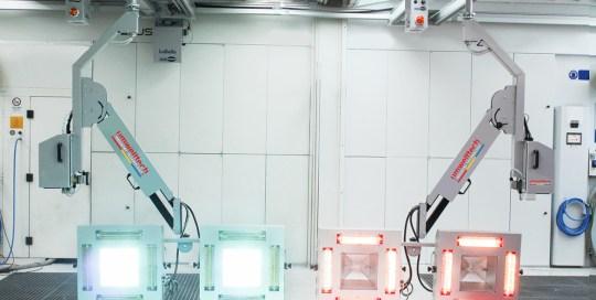 UV-Licht – Trocknungs-System