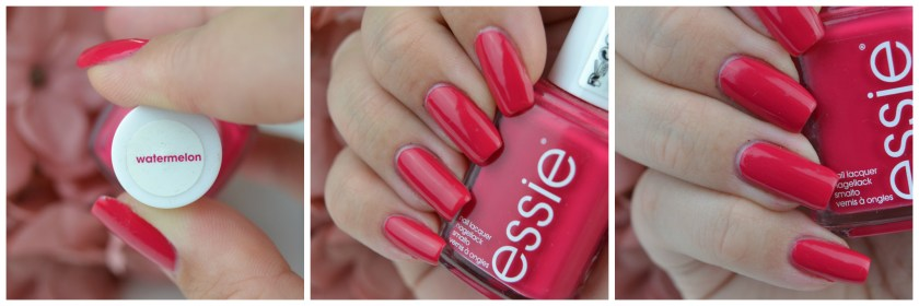 Essie, Watermelon, Swatch, swatches, nailswatch, nail, nails, lacquer, polish, varnish,