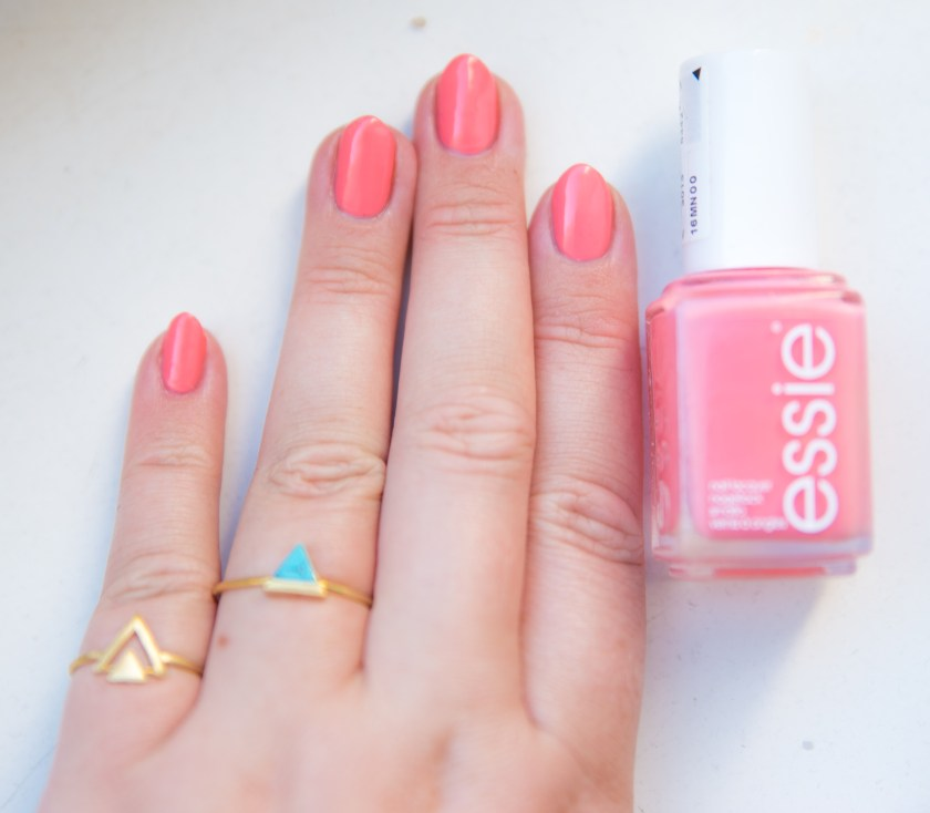 Essie, Lounge Lover, Spring, LE, 2016, Nail, Nails, Nägel, Nagel, Lack, Nagellack, Polish, Varnish, Lacquer, Essieliebe, Swatch, Swatches, Nailswatch, nailswatches, Limited Edition, Salmon, Lachsfarben, lachsfarbe, zoeca, jewlery, zoecajewlery