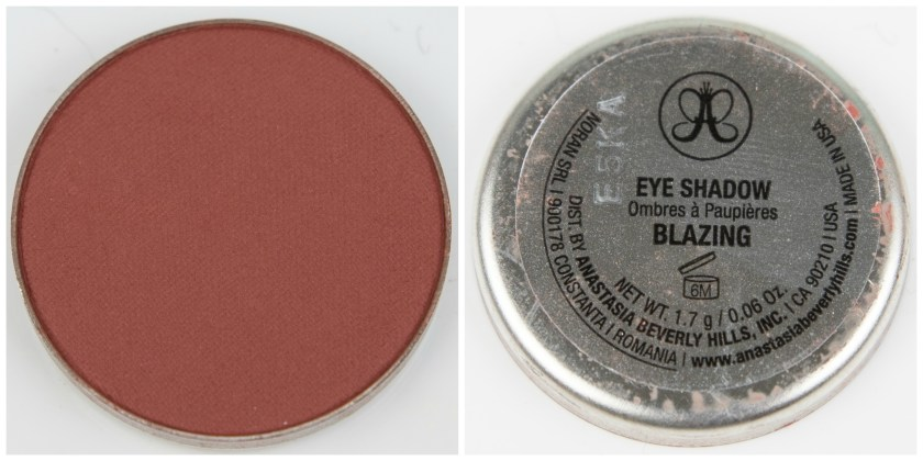 ABH, Anastasia Beverly Hills, Anastasia Beverly Hills Single Eyeshadow, Single, Eyeshadow, Lidschatten, Swatch, Swatches, Review, Erfahrung, Erfahrungen, Erfahrungsbericht, Blazing