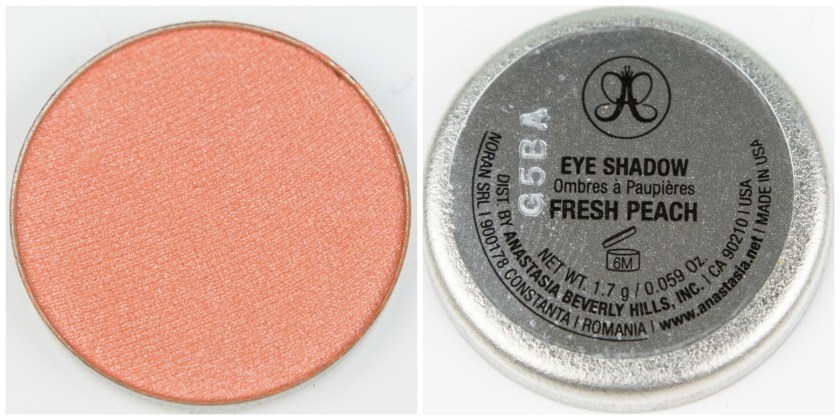 ABH, Anastasia Beverly Hills, Anastasia Beverly Hills Single Eyeshadow, Single, Eyeshadow, Lidschatten, Swatch, Swatches, Review, Erfahrung, Erfahrungen, Erfahrungsbericht, Fresh Peach