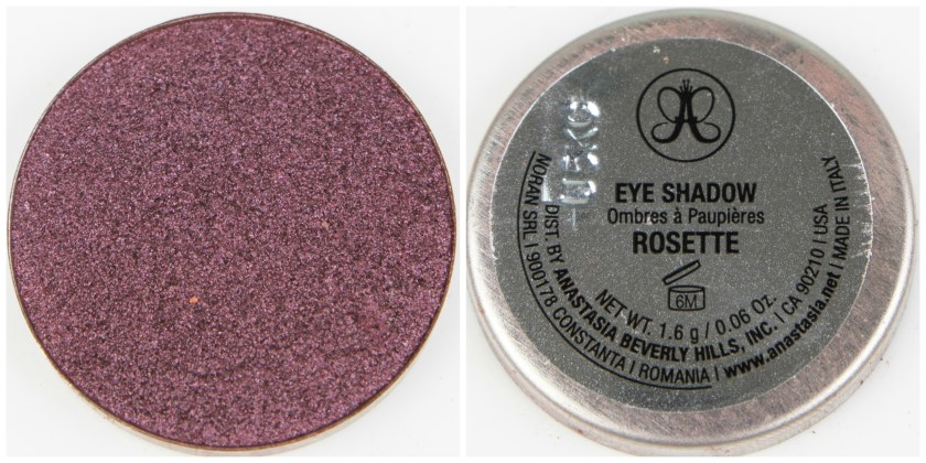 ABH, Anastasia Beverly Hills, Anastasia Beverly Hills Single Eyeshadow, Single, Eyeshadow, Lidschatten, Swatch, Swatches, Review, Erfahrung, Erfahrungen, Erfahrungsbericht, Rosette