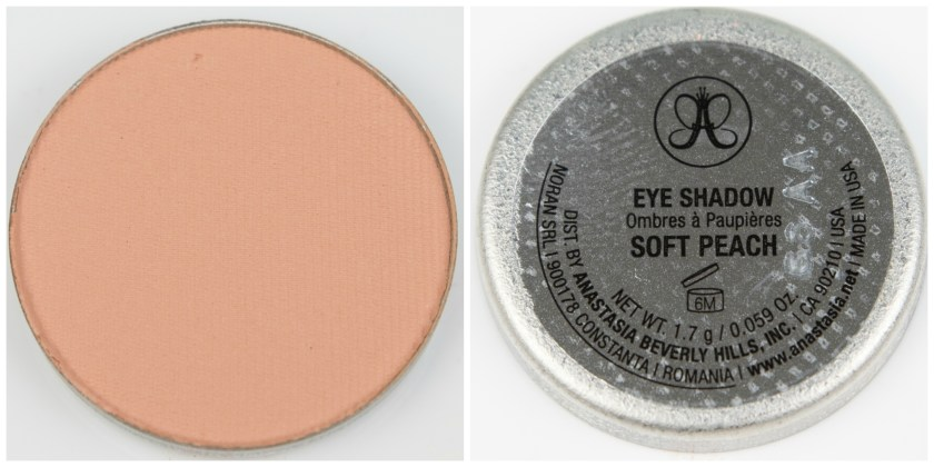 ABH, Anastasia Beverly Hills, Anastasia Beverly Hills Single Eyeshadow, Single, Eyeshadow, Lidschatten, Swatch, Swatches, Review, Erfahrung, Erfahrungen, Erfahrungsbericht, Soft Peach