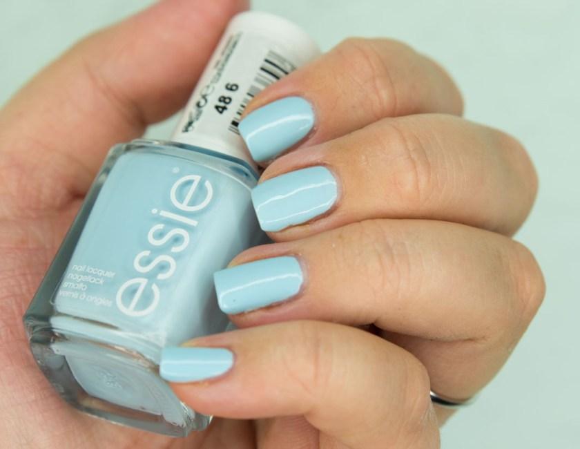 Blue La La, Essie, LE, Sommer, Summer, 2017, Nagellack, blau, nailpolish, nail, nails, polish, notd, baby blau, baby blue, review