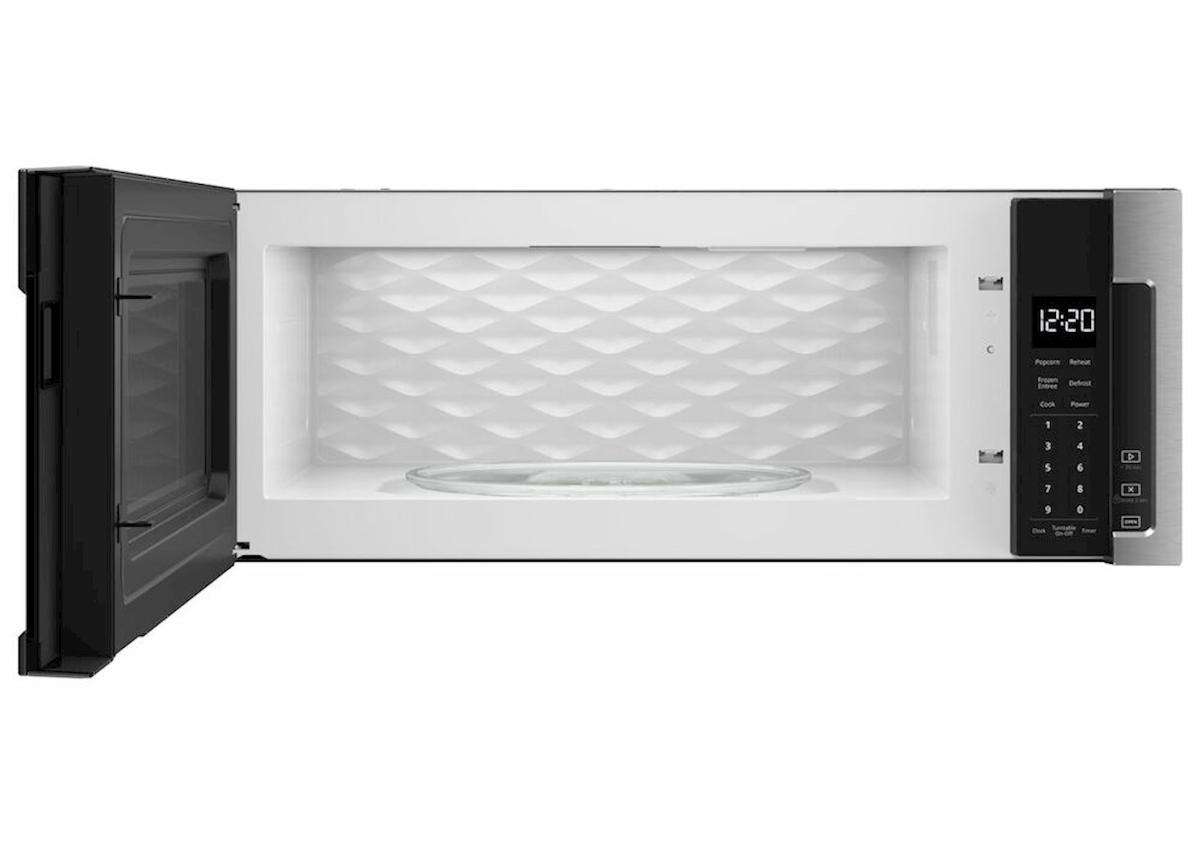 lacks whirlpool 1 1 cu ft stainless