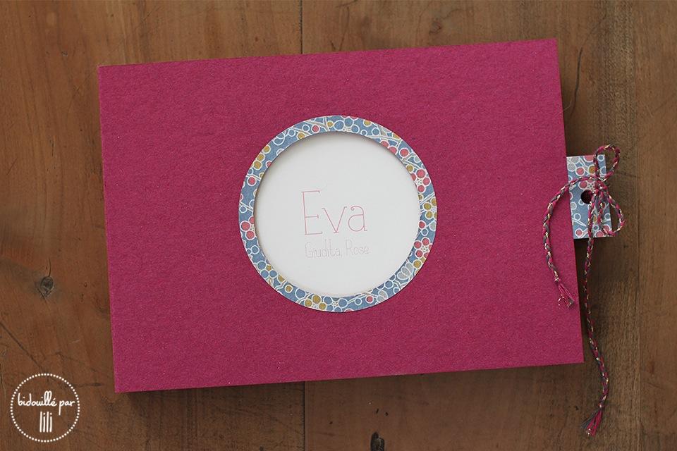 Carnet les anniversaires d'Eva