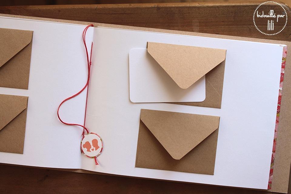 Les livres d'or enveloppes