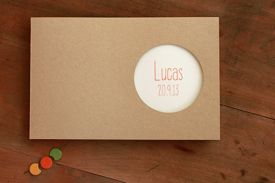 Carnet premiers souvenirs, Lucas