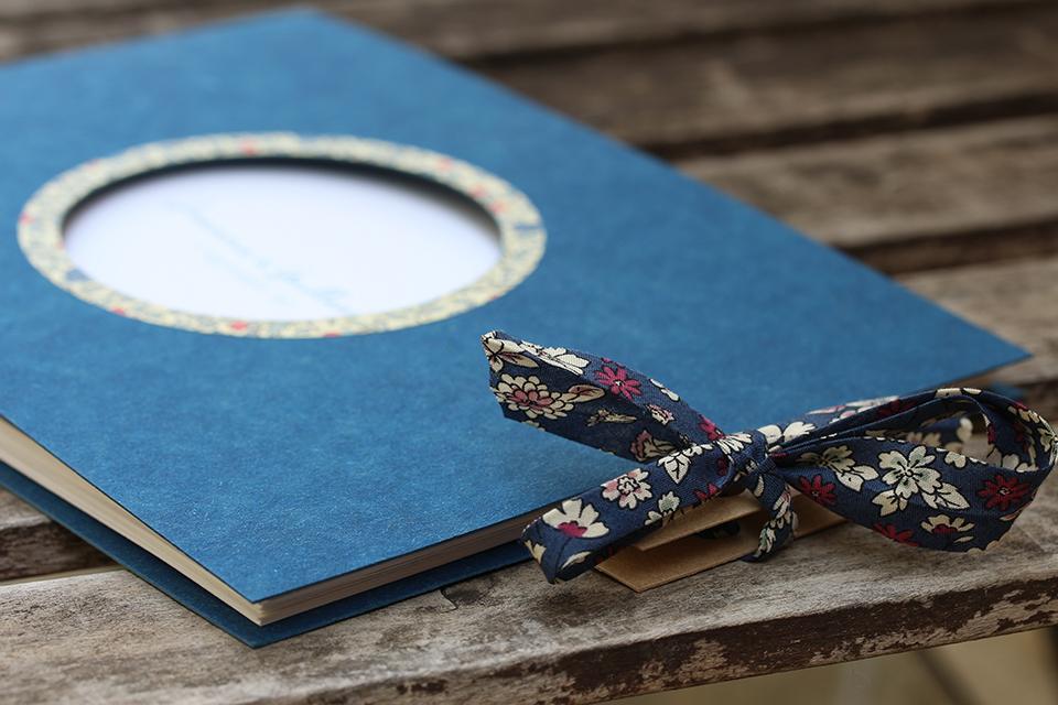 Les livre d'or bleus et liberty