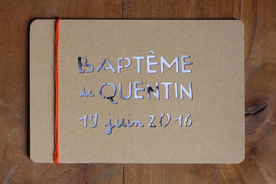Faire-part Quentin