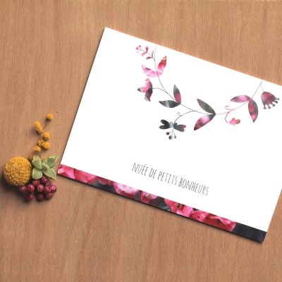 Carte Petits bonheurs
