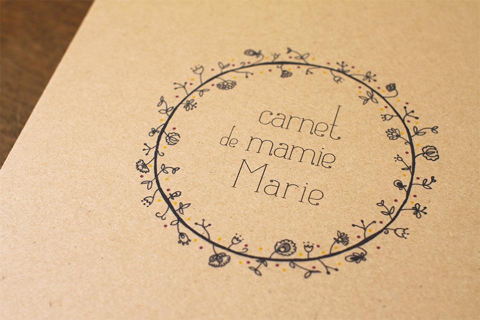 Carnet de mamie Marie